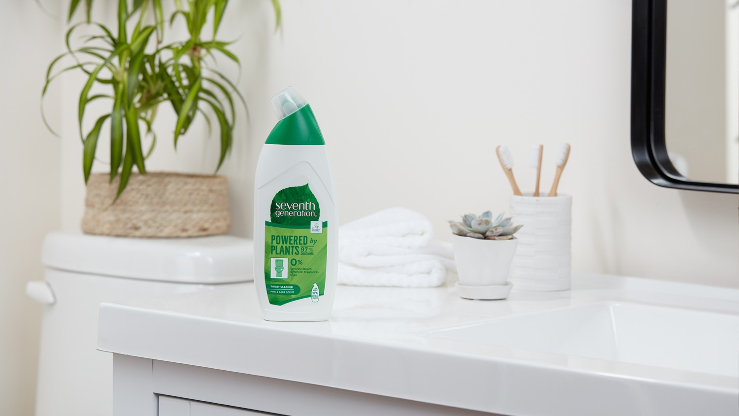 Seventh Generation Toilet Cleaner on the side