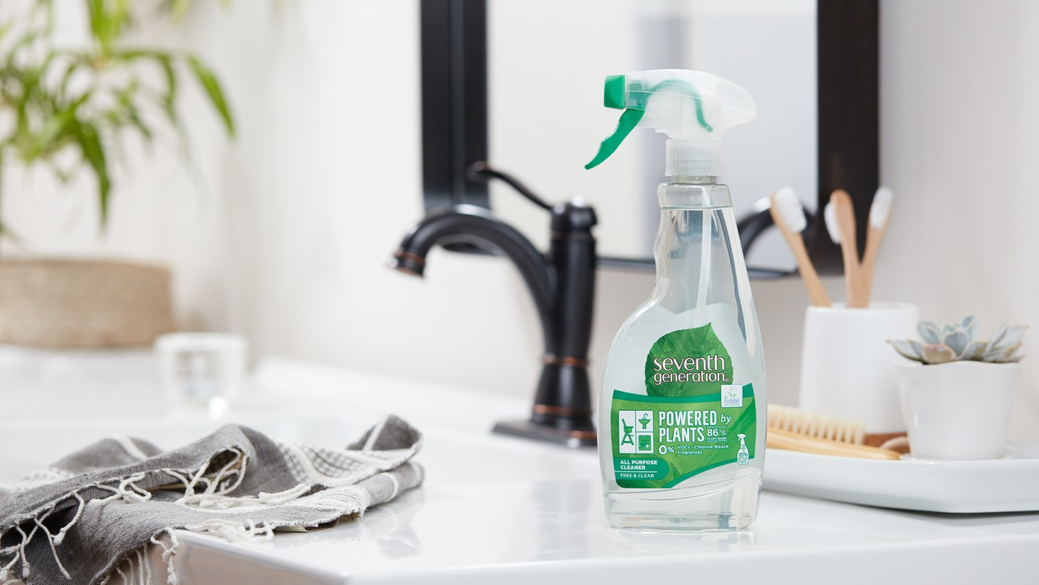Seventh Generation all purpose cleaning spray